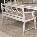 American Drew Lynn Haven Dining Bench                               - Item Number: 416-650