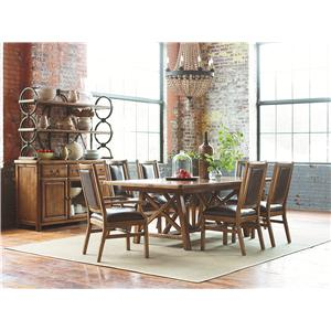 American Drew New River New River Dining Set