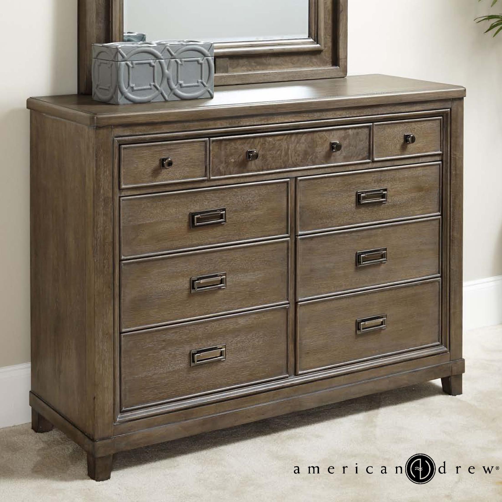 American Drew Park Studio 9-Drawer Dresser - Item Number: 488-131