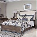 American Drew Park Studio Queen Sleigh Bed - Item Number: 488-304R