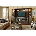 American Drew Park Studio Wall Entertainment Unit with Cord Access