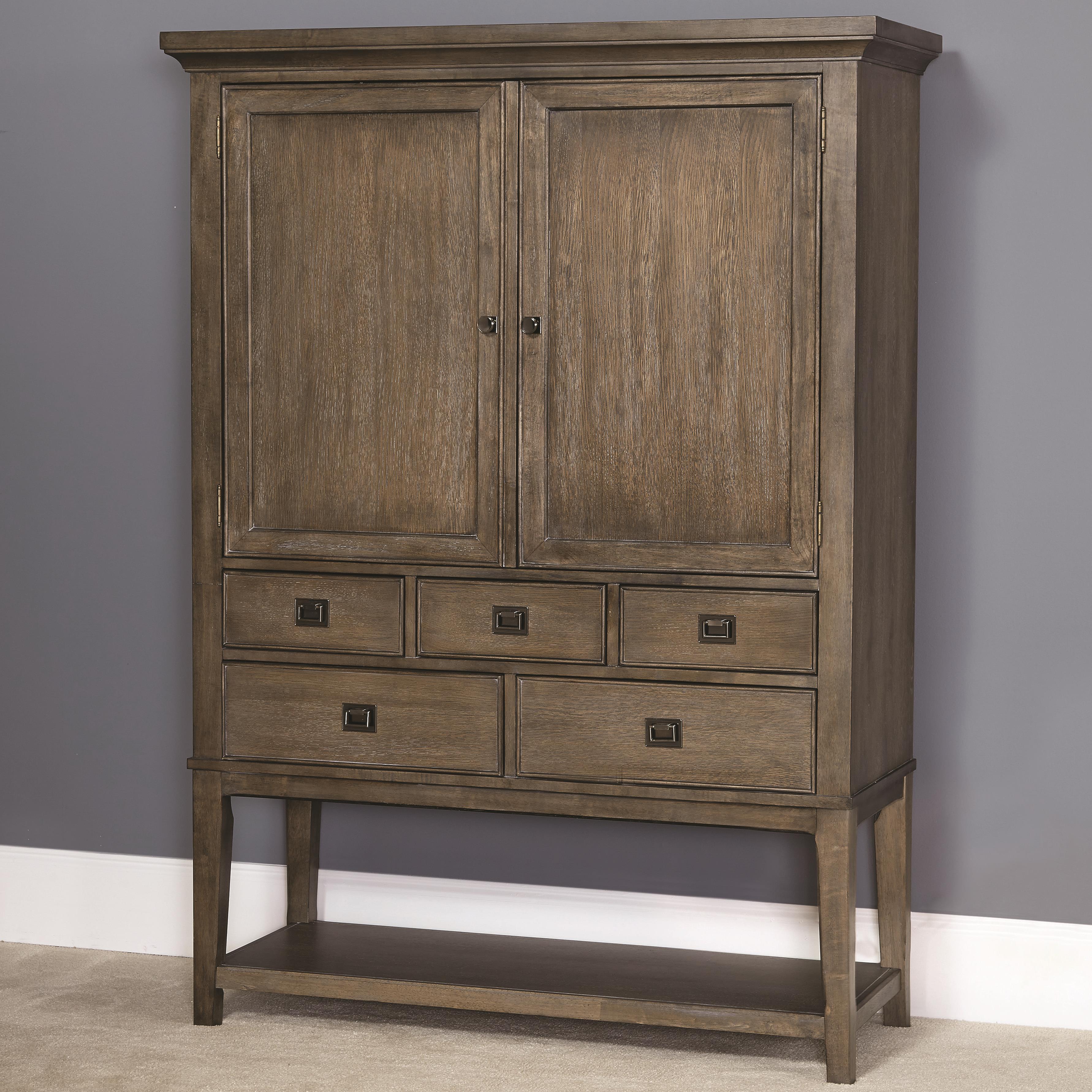 American Drew Park Studio Bar Cabinet - Item Number: 488-891