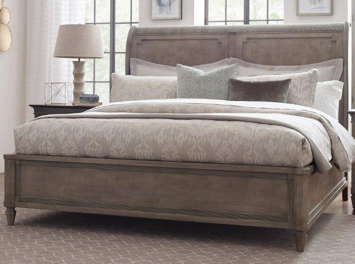 Salina  Salina Queen Sleigh Bed by American Drew at Morris Home