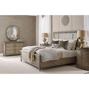 American Drew Savona Queen Bedroom Group