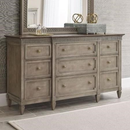 Morris Home Salina Salina 9 Drawer Dresser - Item Number: 654-130