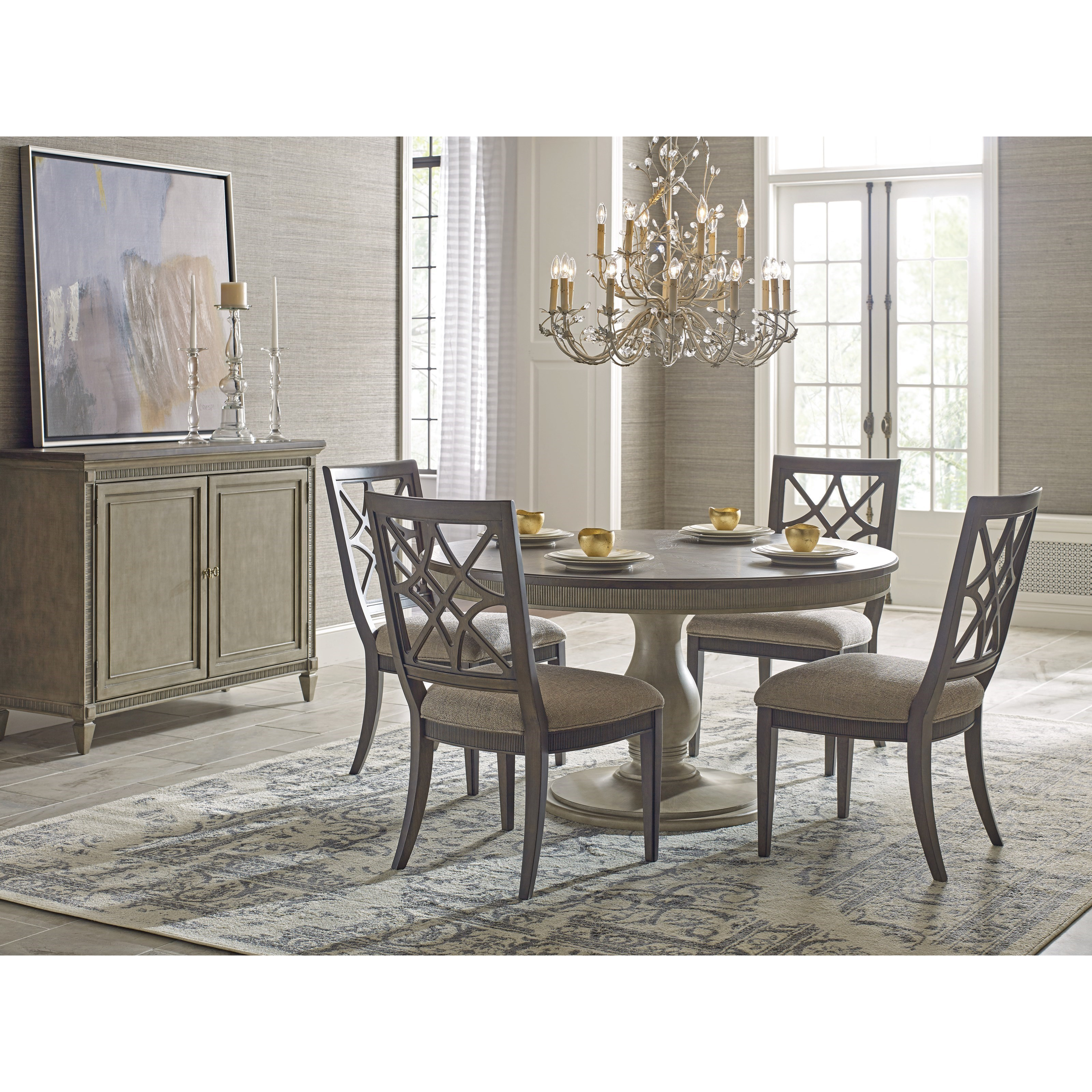 American Drew Savona Octavia Dining Table Stoney Creek