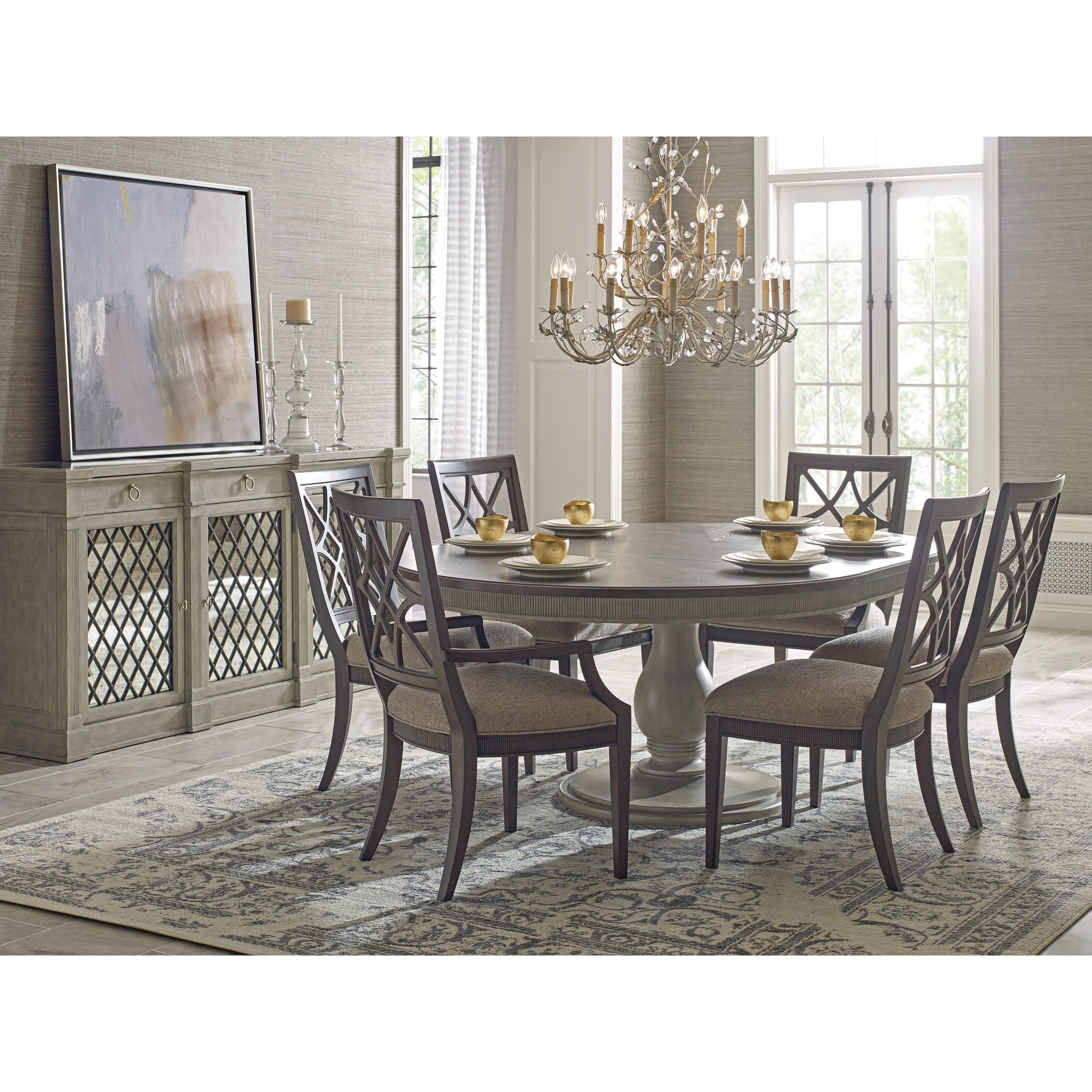 American Drew Dining Room Furniture: American Drew Savona Octavia Dining Table