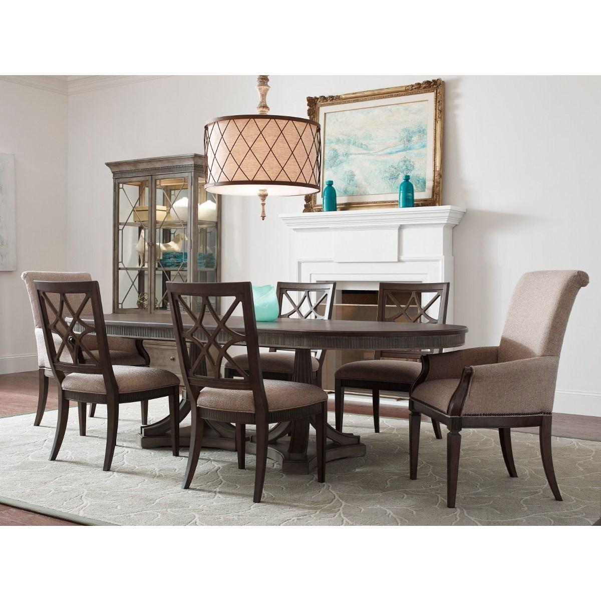 Seven Piece Table & Chair Set