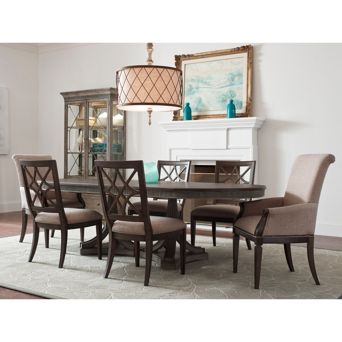 American Drew Dining Room Furniture: American Drew Savona Freidrick Dining Table With Leaf