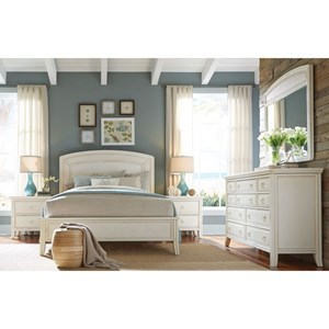 American Drew Siesta Sands  Queen Bedroom Group