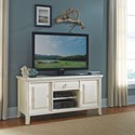 American Drew Siesta Sands  Entertainment Unit  with Cord Access