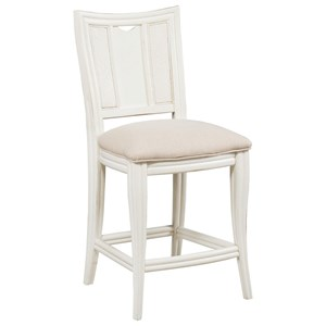 American Drew Siesta Sands  Barstool with Upholstered Seat