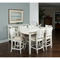 American Drew Siesta Sands  Gathering Table with Leaf