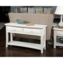 American Drew Siesta Sands  Sofa Table with Two Drawers