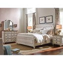 Morris South Gate King Panel Bed