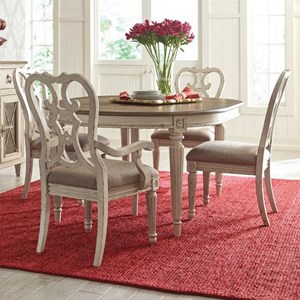 American Drew SOUTHBURY  5 Piece Table & Chair Set