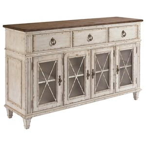 Morris South Gate South Gate Sideboard With Adjustable Shelves