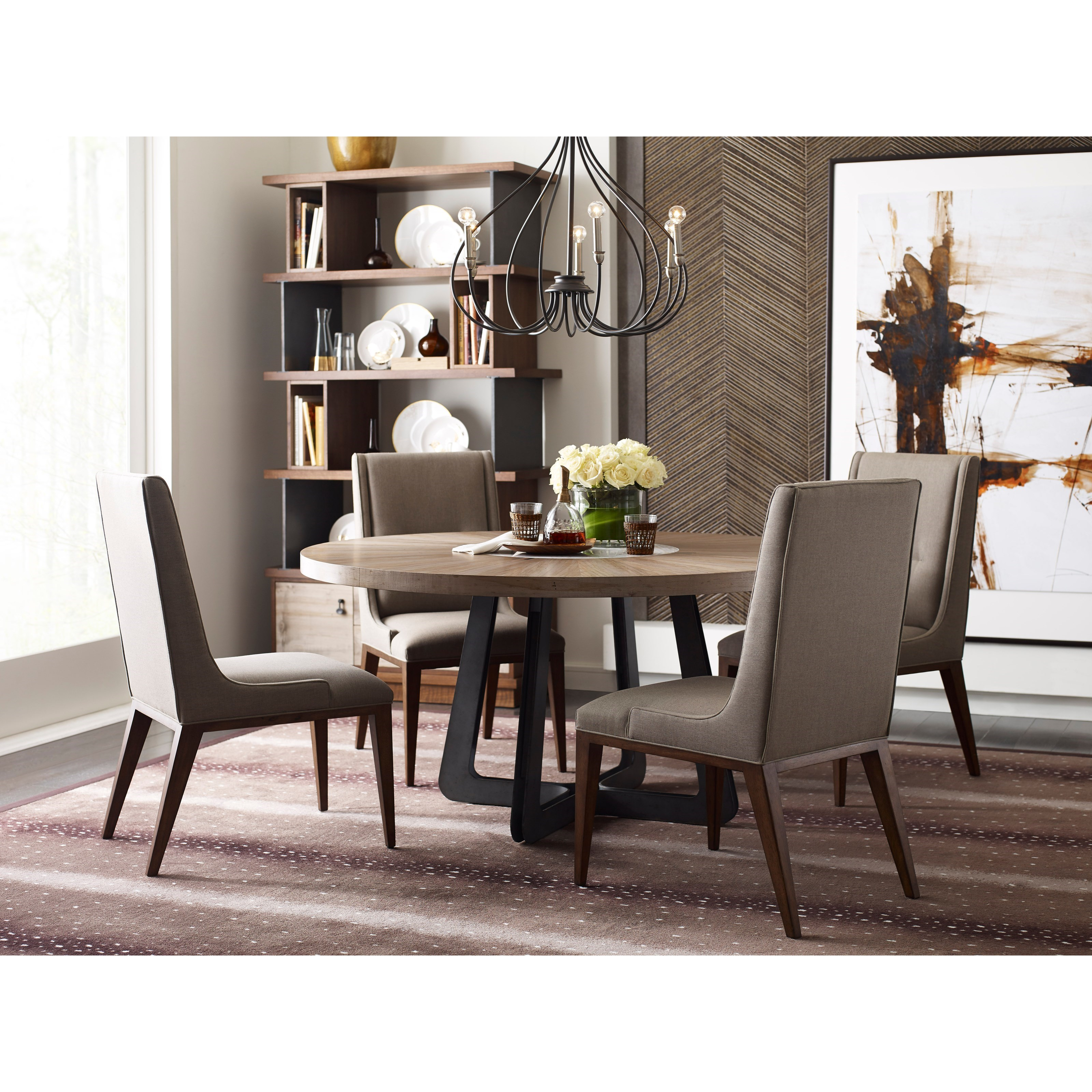 Modern Synergy Casual Dining Room Group