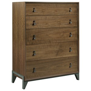 Motif Walnut Drawer Chest