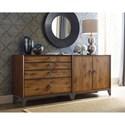 American Drew Modern Synergy Bunching Dresser - Item Number: 700-220+221