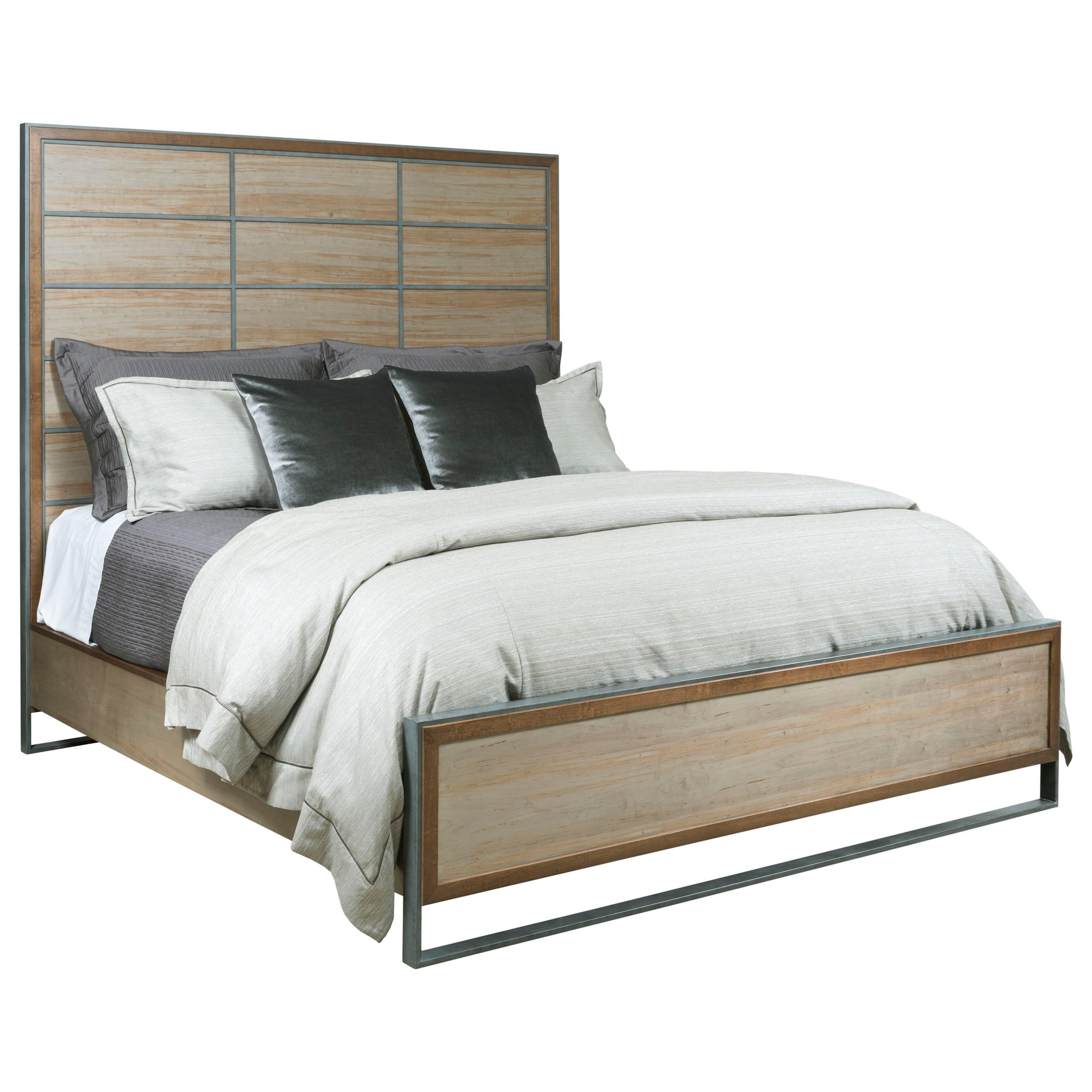 Queen Matrix Panel Bed