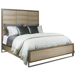 Queen Matrix Panel Bed