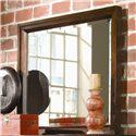 American Drew Tribecca Beveled Landscape Mirror