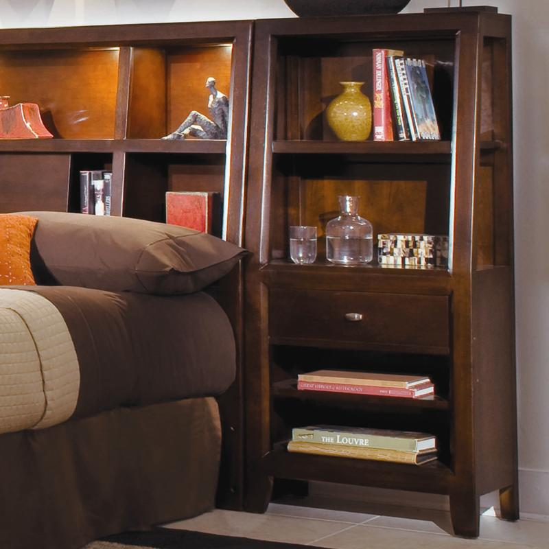 American Drew Tribecca Bookcase Nightstand Item Number 912 402