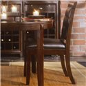 American Drew Tribecca Leather Side Chair - Item Number: 912-622