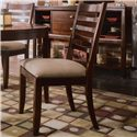 American Drew Tribecca 5-Piece Round Leg Table & Splat Side Chair Formal Dining Set - Detail of Splat Side Chair