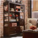 American Drew Tribecca Etagere Bookcase with 4 Drawers