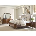 American Drew Vantage Queen Bedroom Group - Item Number: 929 Q Bedroom Group 4