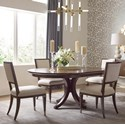 American Drew Vantage 5-Piece Table and Chair Set - Item Number: 929701R+4x636