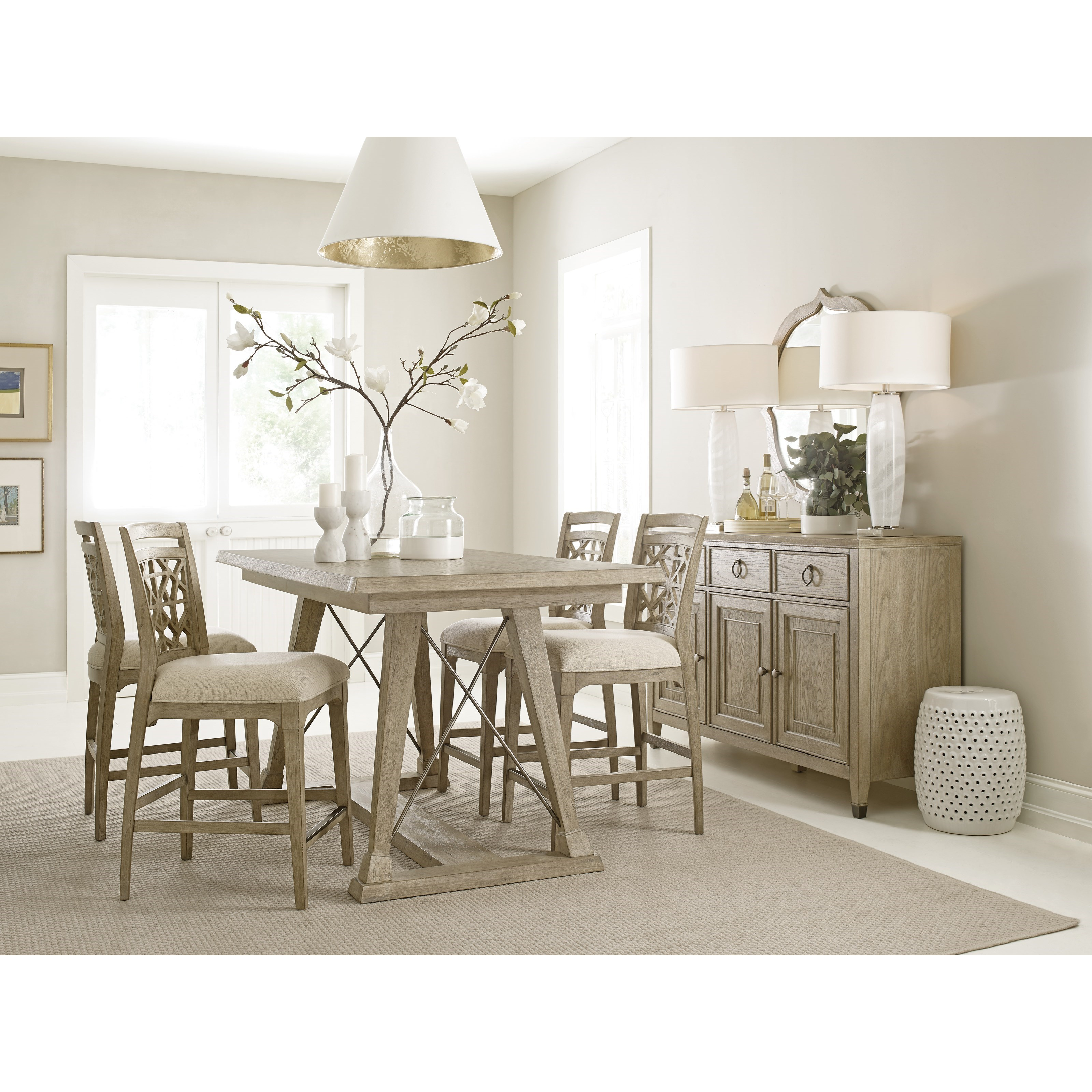 Casual Dining Room Furniture: American Drew Vista Casual Dining Room Group