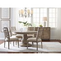 American Drew Vista Casual Dining Room Group - Item Number: 803 Dining Room Group 5