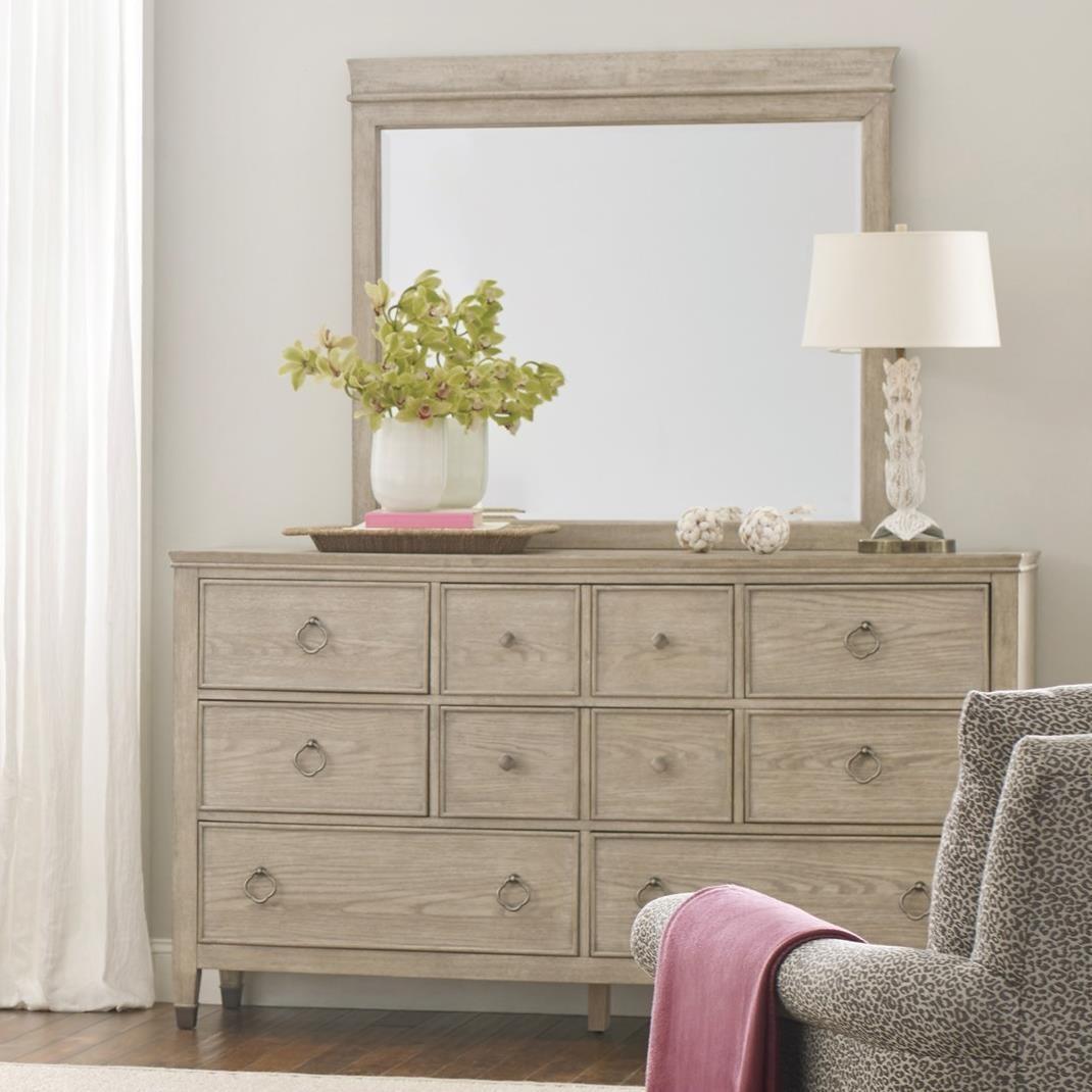 Fremont Dresser and Mirror Set