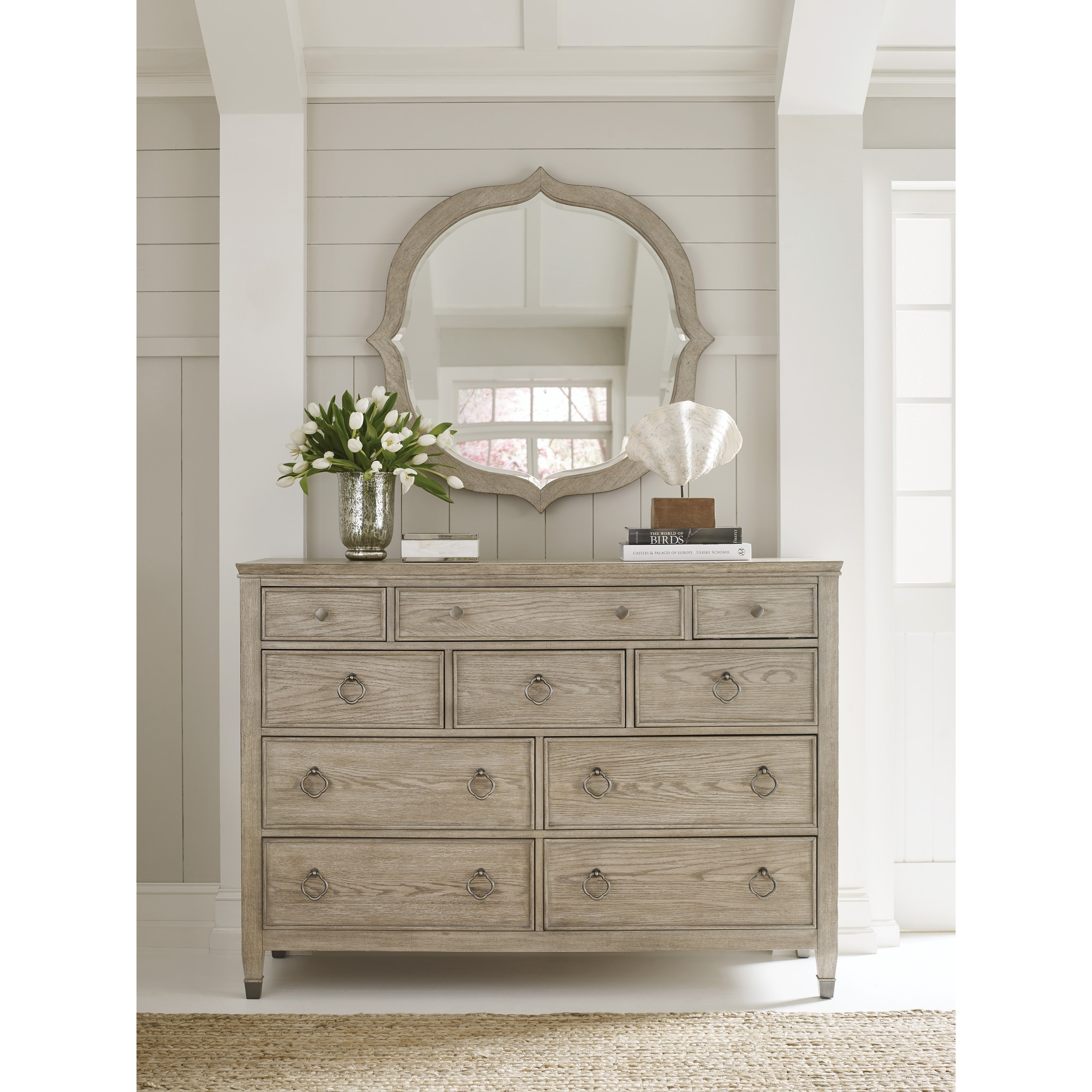 Living Trends Vista Relaxed Vintage Ten Drawer Jupiter