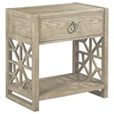 American Drew Vista Delray Open Nightstand - Item Number: 803-420