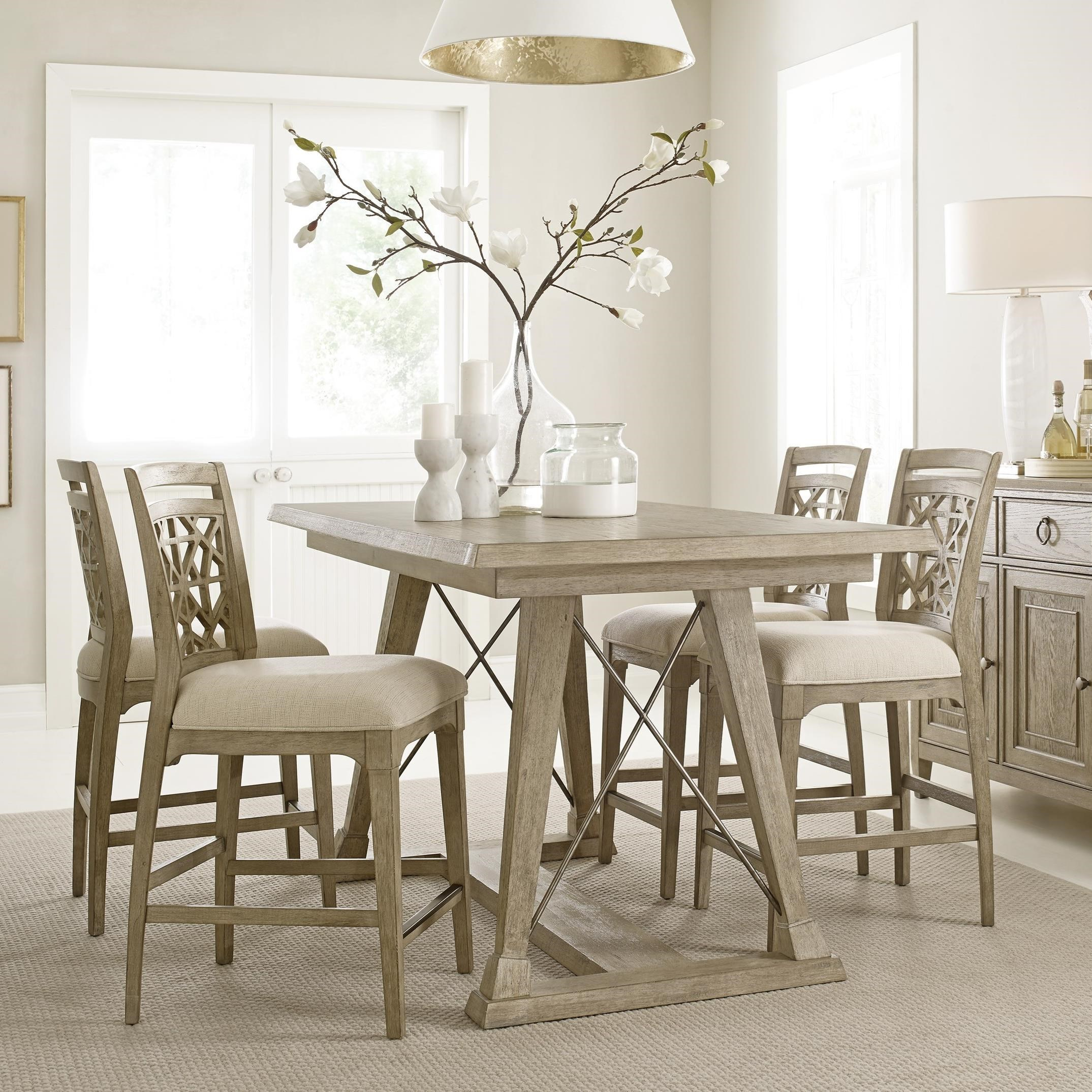 American Drew Dining Room Furniture: American Drew Vista Relaxed Vintage 5 Piece Dining Set