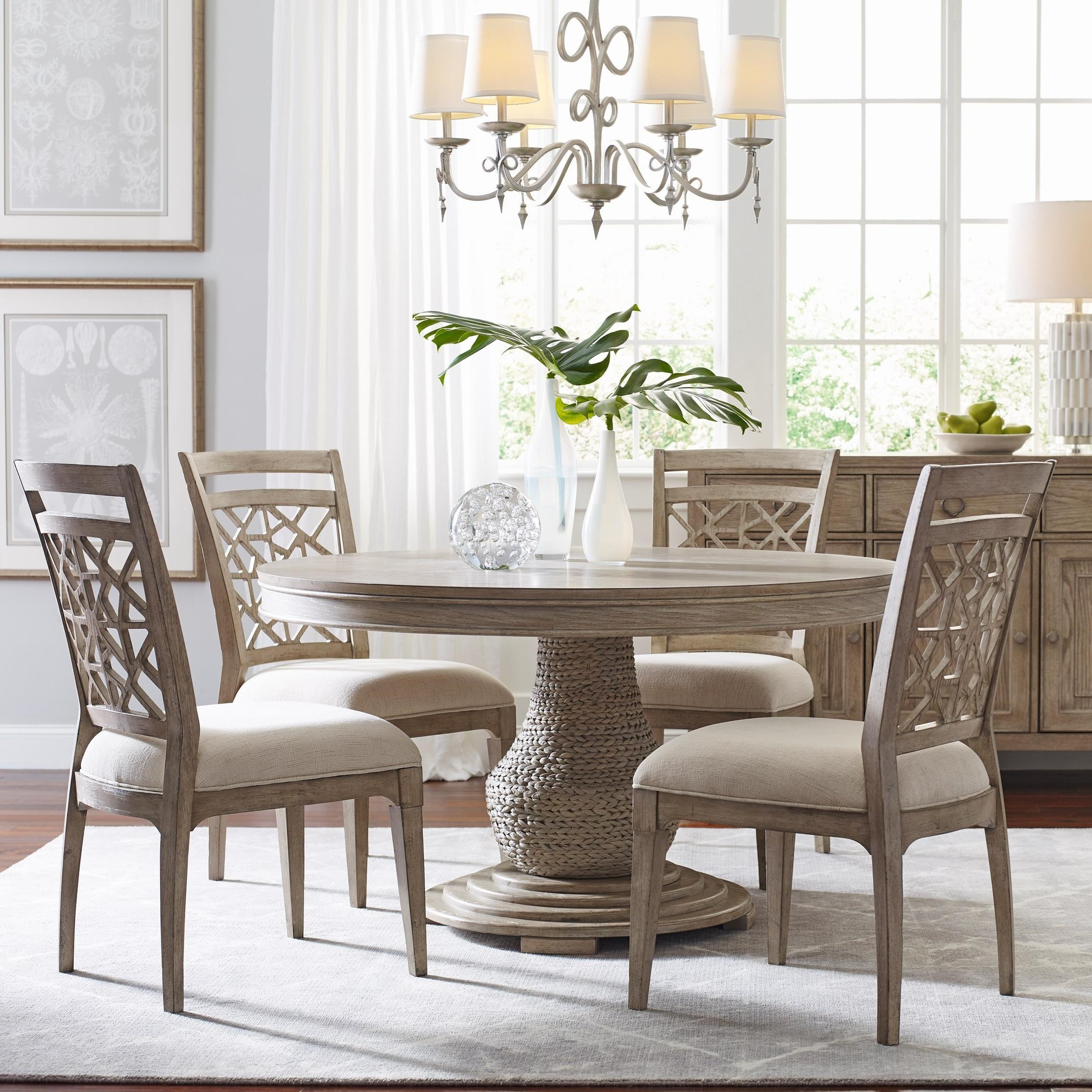 American Drew Vista Relaxed Vintage 5 Piece Dining Set