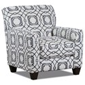American Furniture 1010 Casual Styled Accent Chair - Item Number: 1010-1685