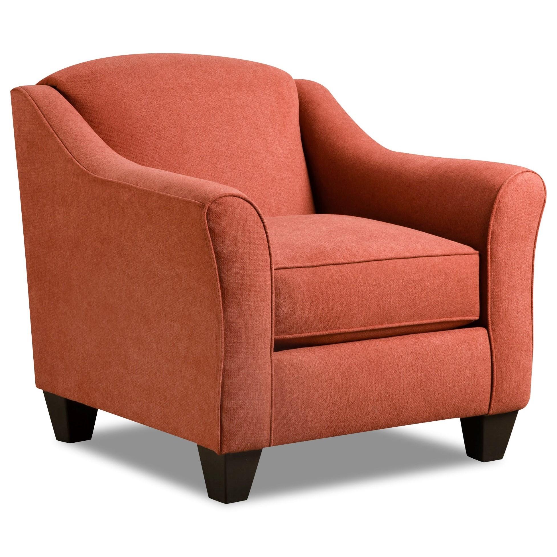 American Furniture Store: American Furniture 1020 1020-2027 Popstitch Rust Accent