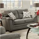 American Furniture 1070 Loveseat - Item Number: 1072-9335