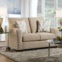 American Furniture 1210 Loveseat - Item Number: 1212-5705