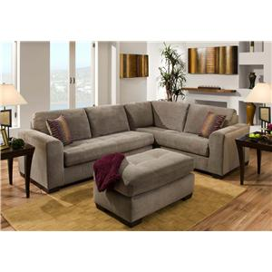 American Furniture 1230 Sectional Sofa