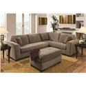 American Furniture 1230 2 Piece Sectional - Item Number: 1231K2