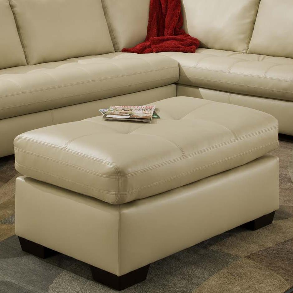 American Furniture 1230 Ottoman - Item Number: 1237-8800