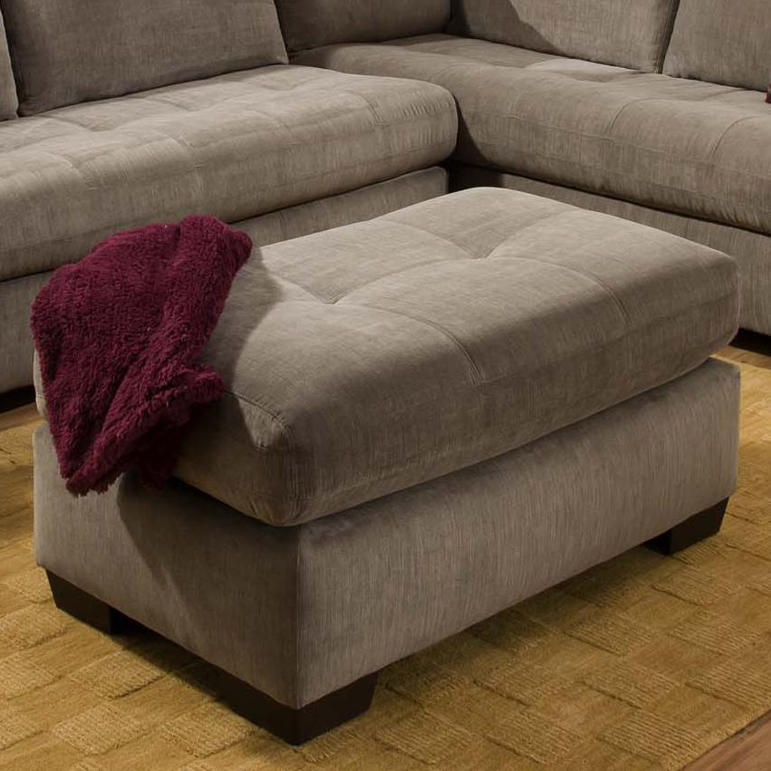 American Furniture 1230 Ottoman - Item Number: 1237-8900