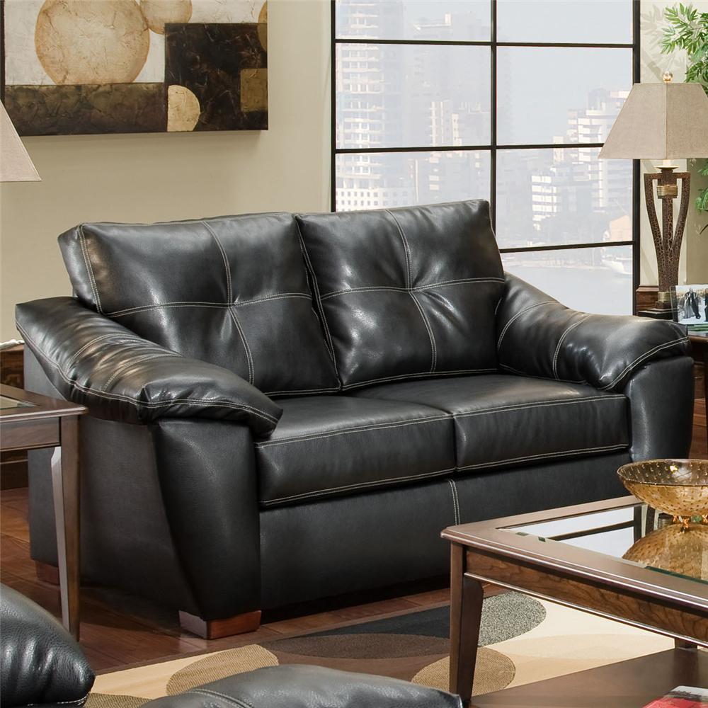 American Furniture 1250 Loveseat - Item Number: 1252 TB