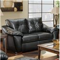 American Furniture 1250 Loveseat - Item Number: 1252 TB